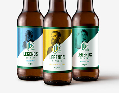 Legends Brewery Branding