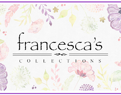 Francesca's Marketing Plan