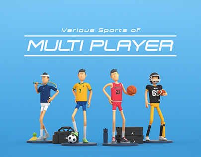 Various Sports of Multi Player