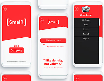 SmalR app Design