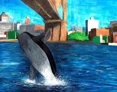 walvis in New York