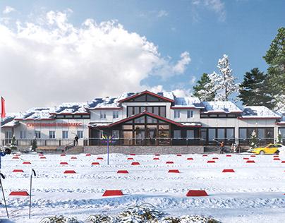 Winter sportcomplex