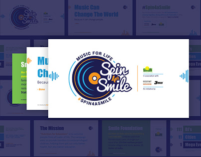 Spin4aSmile - Logo & Pitch Deck