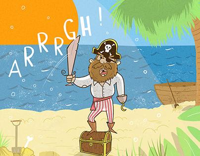 Pirate Charcter design