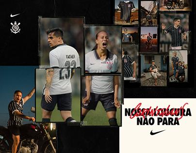 Nike || Lançamento Uniformes Corinthians 20/21