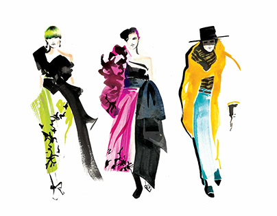 New Fashion illustrator!