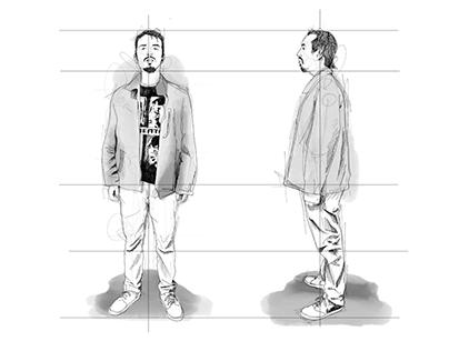 """Comic """"Bogotá de los tiempos"""""""