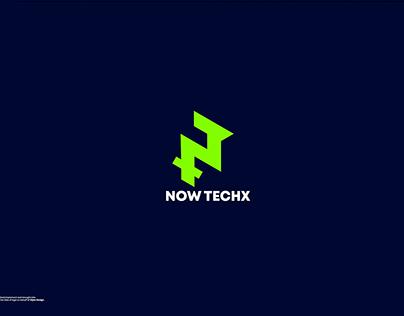 Modern Symbolic ( N and T) tech logo design