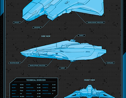 Free Star Citizen Fan Art Poster - ARK Layout