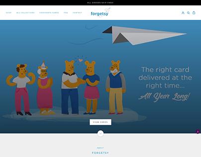 Forgetsy - Shopify