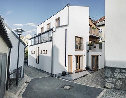 House 359; photomontage