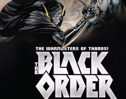 The Black Order: The Warmasters of Thanos Trade Design