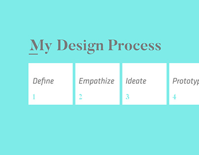 My Design Process