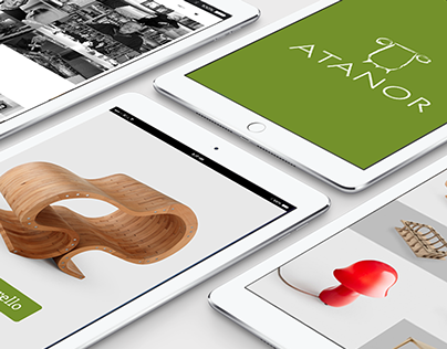 Terre di Atanor - A design ecommerce with a clean UI