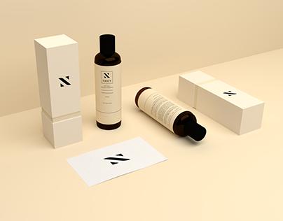 Nhien Herbal Shampoo Branding