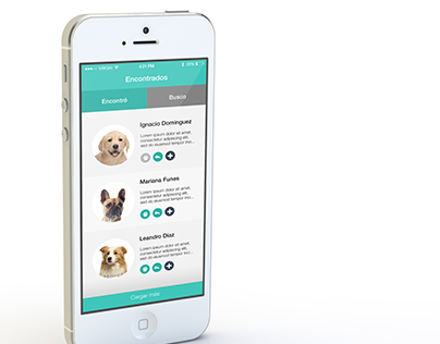 Dog search mobile app