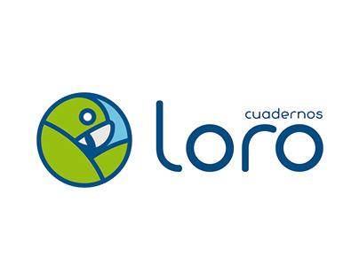 Rebranding - Cuadernos Loro - Perú