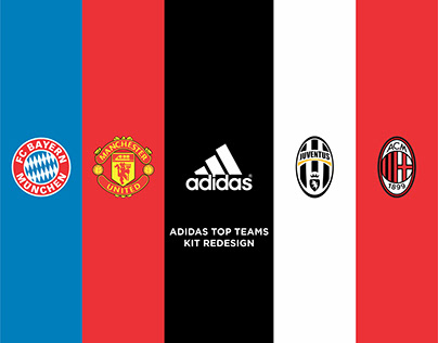 Adidas 15-16 top teams kits redesign