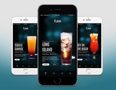 Fuse | Cocktail Creation App