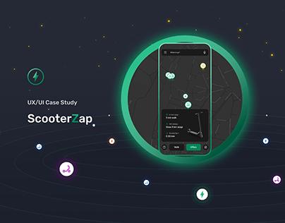 UX / UI Case Stady - Scooter Rental App