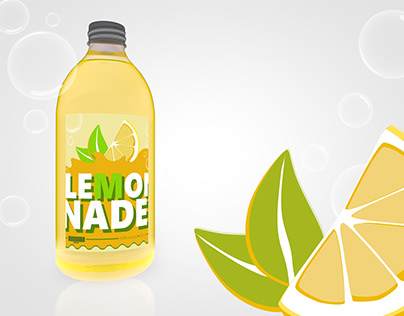 [ LEMONADE ] | Label-Design
