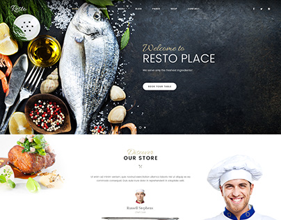 Resto - Multipurpose Restaurant & Cafe WordPress Theme