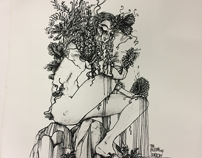 Lithograph 3: Blooms of Sorrow