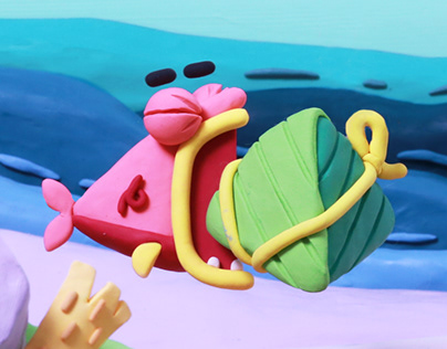Baidu Doodle-The Dragon Boat Festival