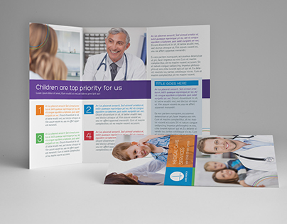 Children Medical A4 / Letter Trifold Brochure