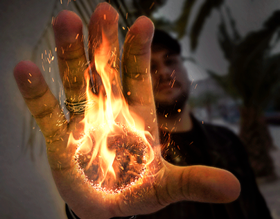 Fire On Hand