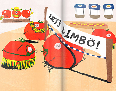 2018   A grand life of tomatoes   Children's Book