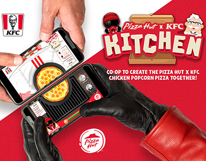 Pizza Hut x KFC Kitchen