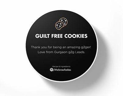 Guilt Free Cookies - Packaging Design