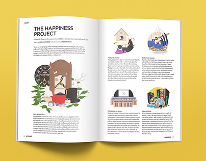 MVNDO Magazine Illustrations
