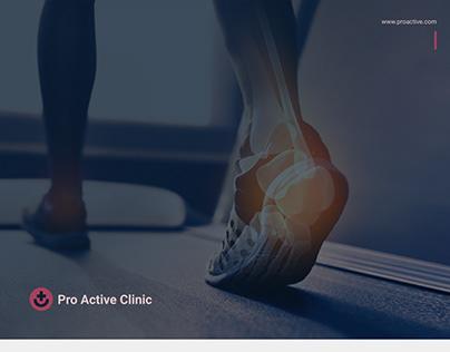 Pro Active Clinic Branding