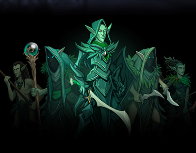 Elves Army Characters