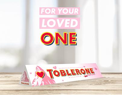 Toblerone Valentine's edition