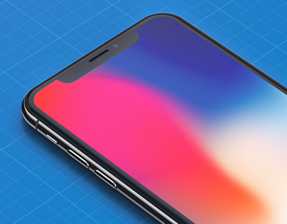 Free High Resolution iPhone X Mockups