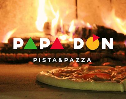 Брендинг піцерії PAPA DON