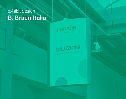 exhibit design - B. Braun Italia