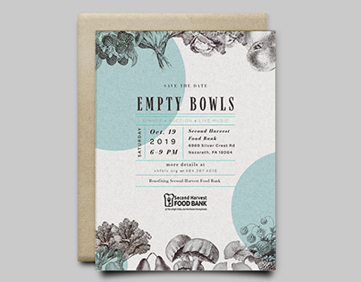 Empty Bowls Event Save the Date & Social Media