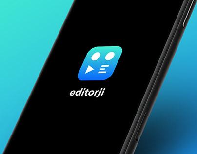 Editorji identity and application
