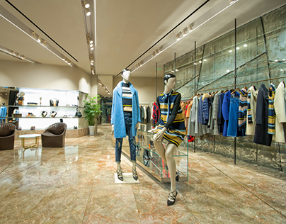 Sportmax Chengdu & Xi'an Shop decoration pictures