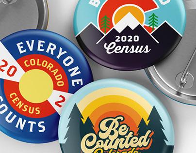 2020 Census Pins