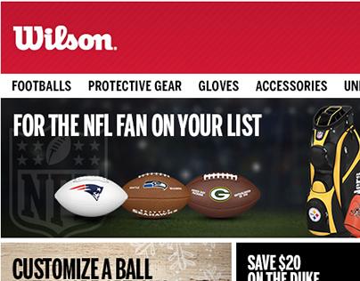 Wilson Sporting Goods Co. E-Blasts