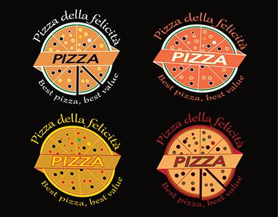 Pizza Logo Design in illustrator.