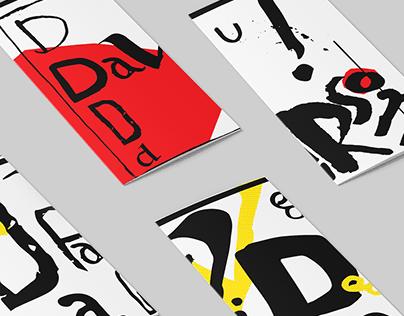 Brochures design about David Carson