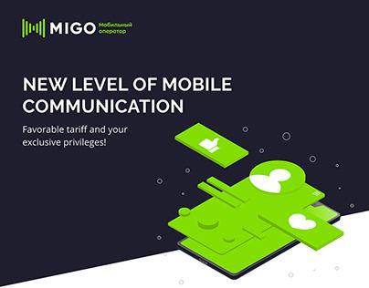 New mobile operator MIGO