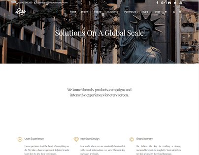 Services - Rare WordPress Theme