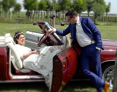 Bruiloft Sabrina & Dries videoclips